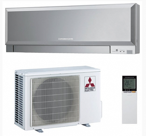 Сплит-система MSZ-EF25 VE/MUZ-EF25 VE (Silver) (DESIGN) - inverter